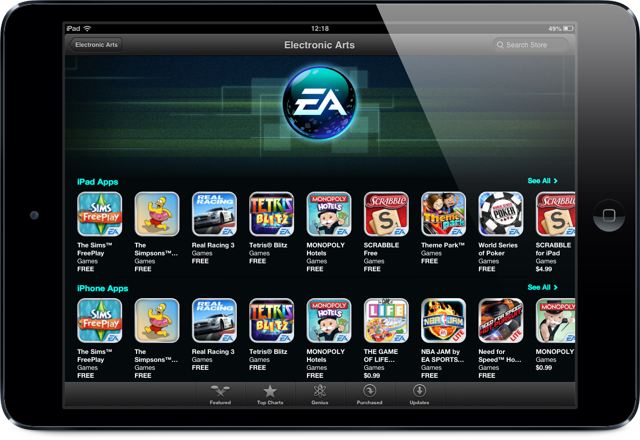 Electronic Arts na App Store
