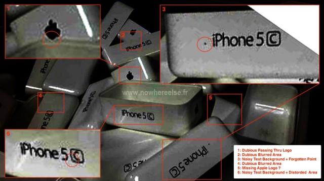 Imagem falsa do iPhone 5C?