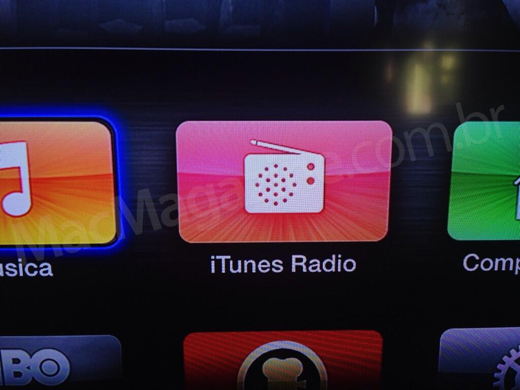 iTunes Radio na Apple TV