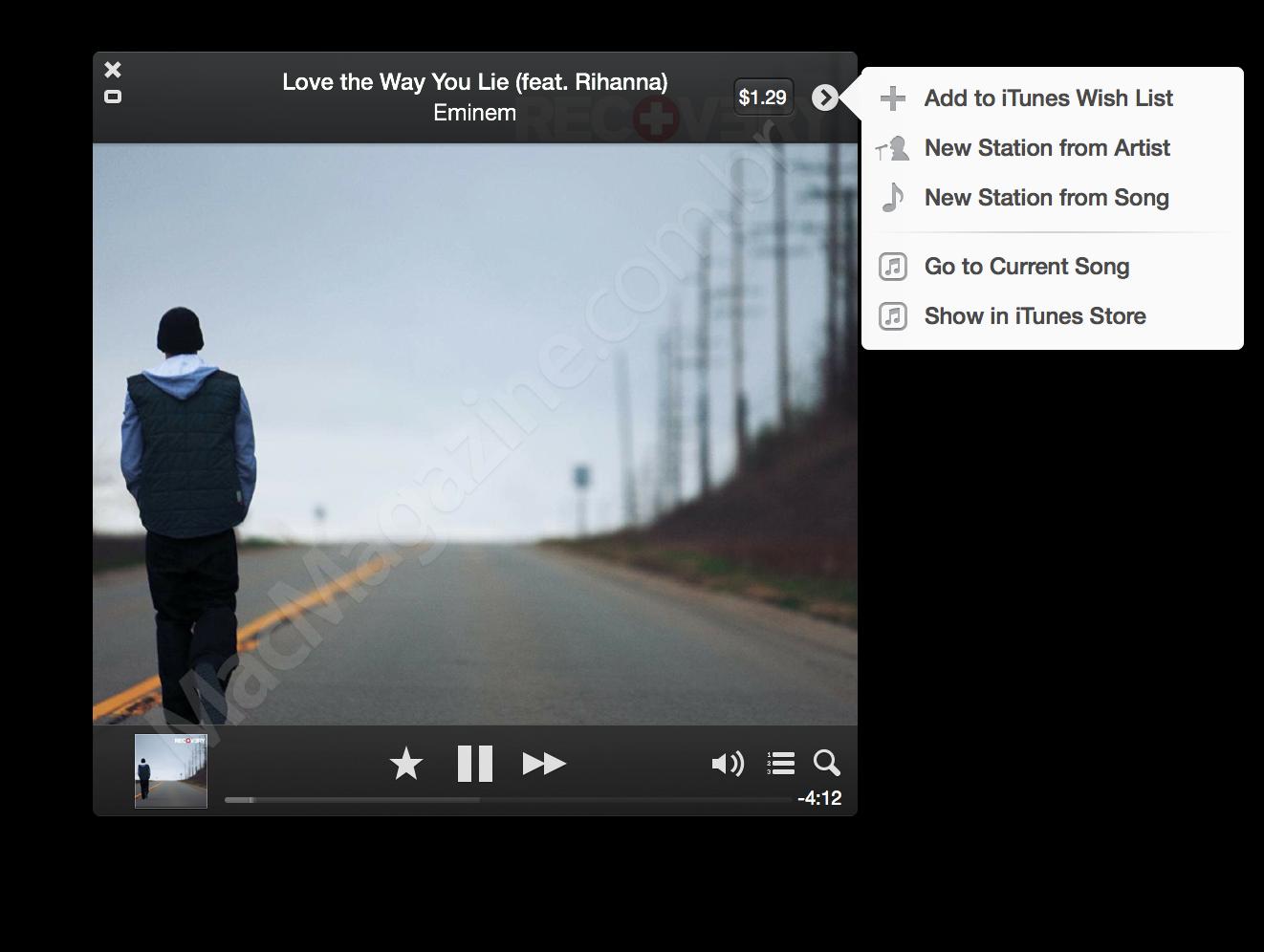 iTunes Radio no Mac