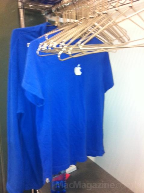 Bastidores de uma Apple Retail Store