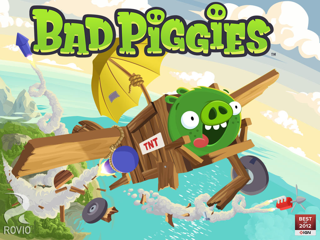 Banner do jogo Bad Piggies