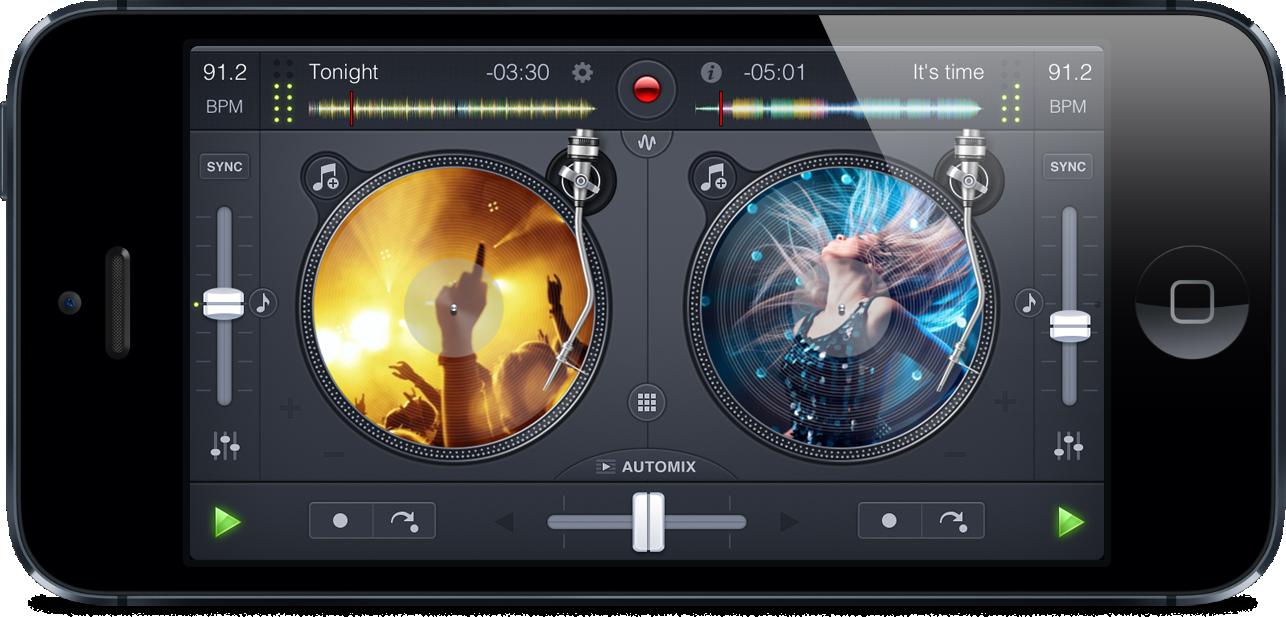 App djay 2 para iPhones/iPods touch