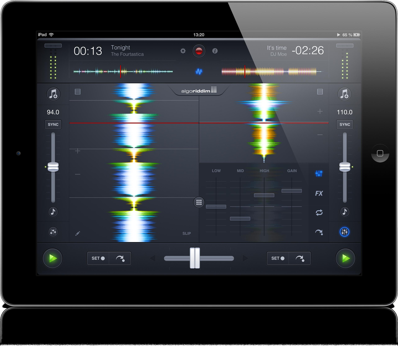 App djay 2 para iPads
