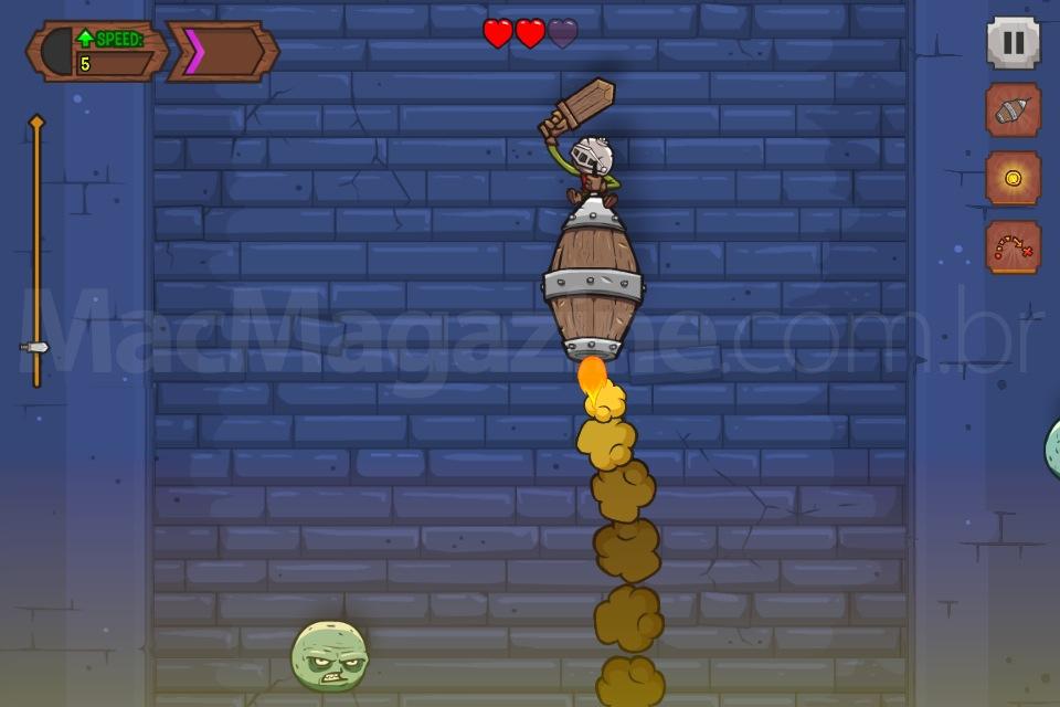 Jogo Knightmare Tower para iOS