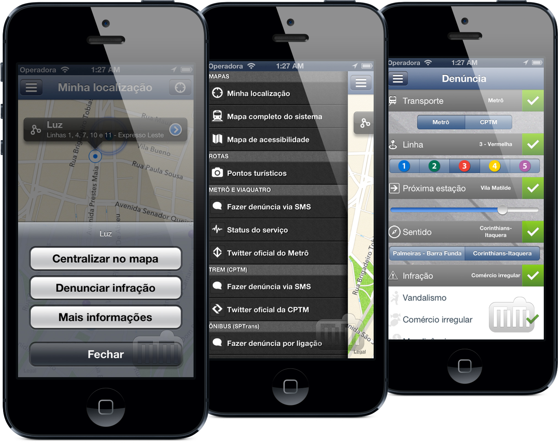 App Transportes São Paulo