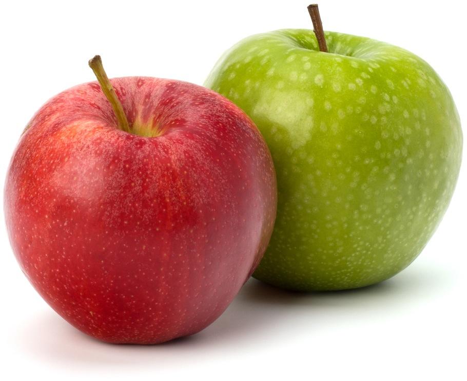 Duas maçãs