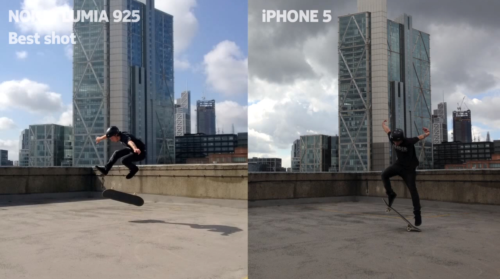 Comercial da Nokia - Lumia 925 vs. iPhone 5