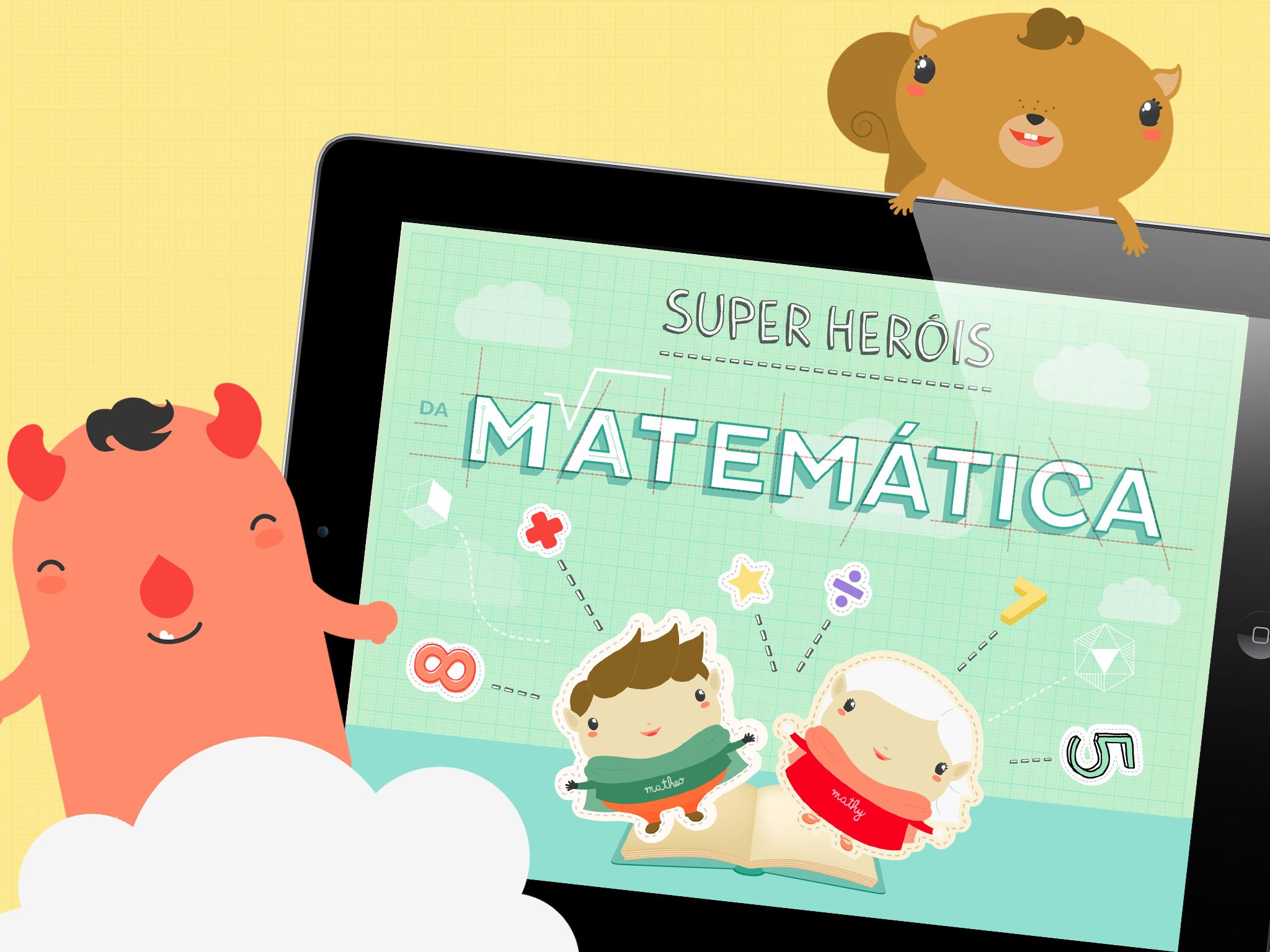 App Sper Herois da Matemática para iOS