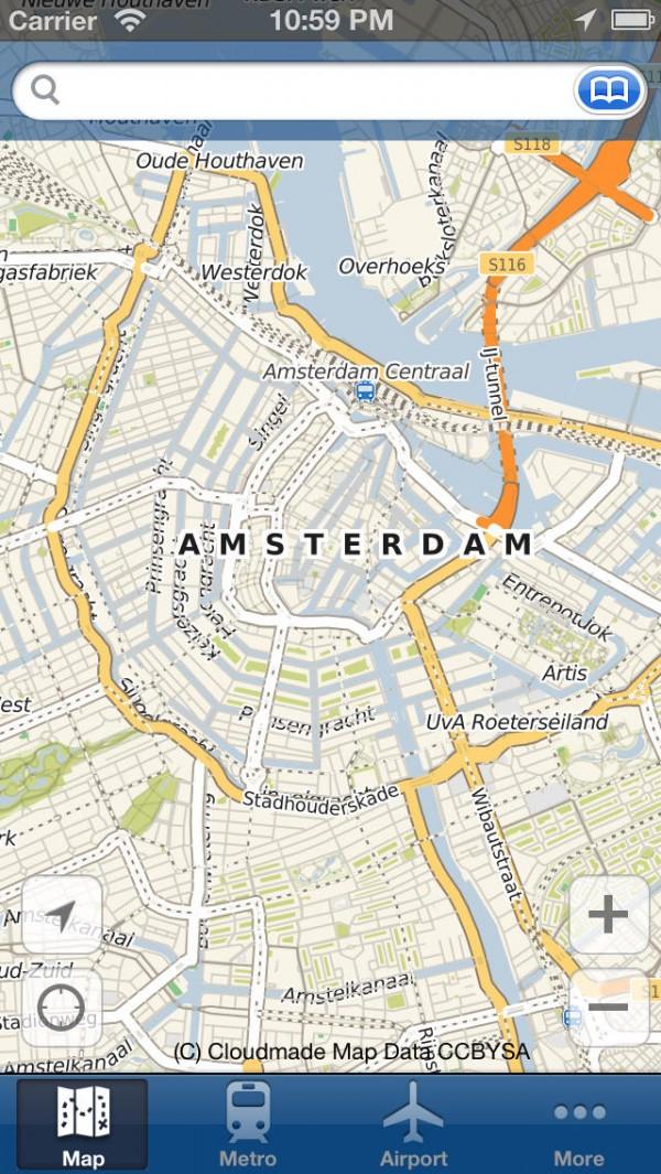 Amsterdam Offline Map