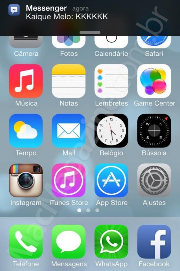 Eis a nossa segunda leva de screenshots do iOS 7 beta 5!