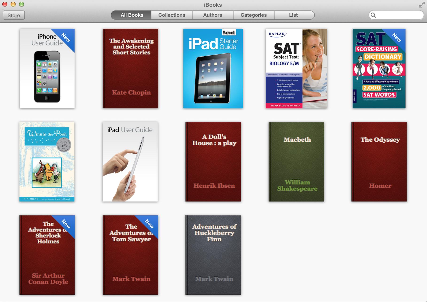 iBooks para Mac