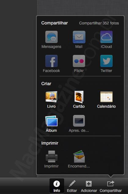 iPhoto no OS X Mavericks DP5
