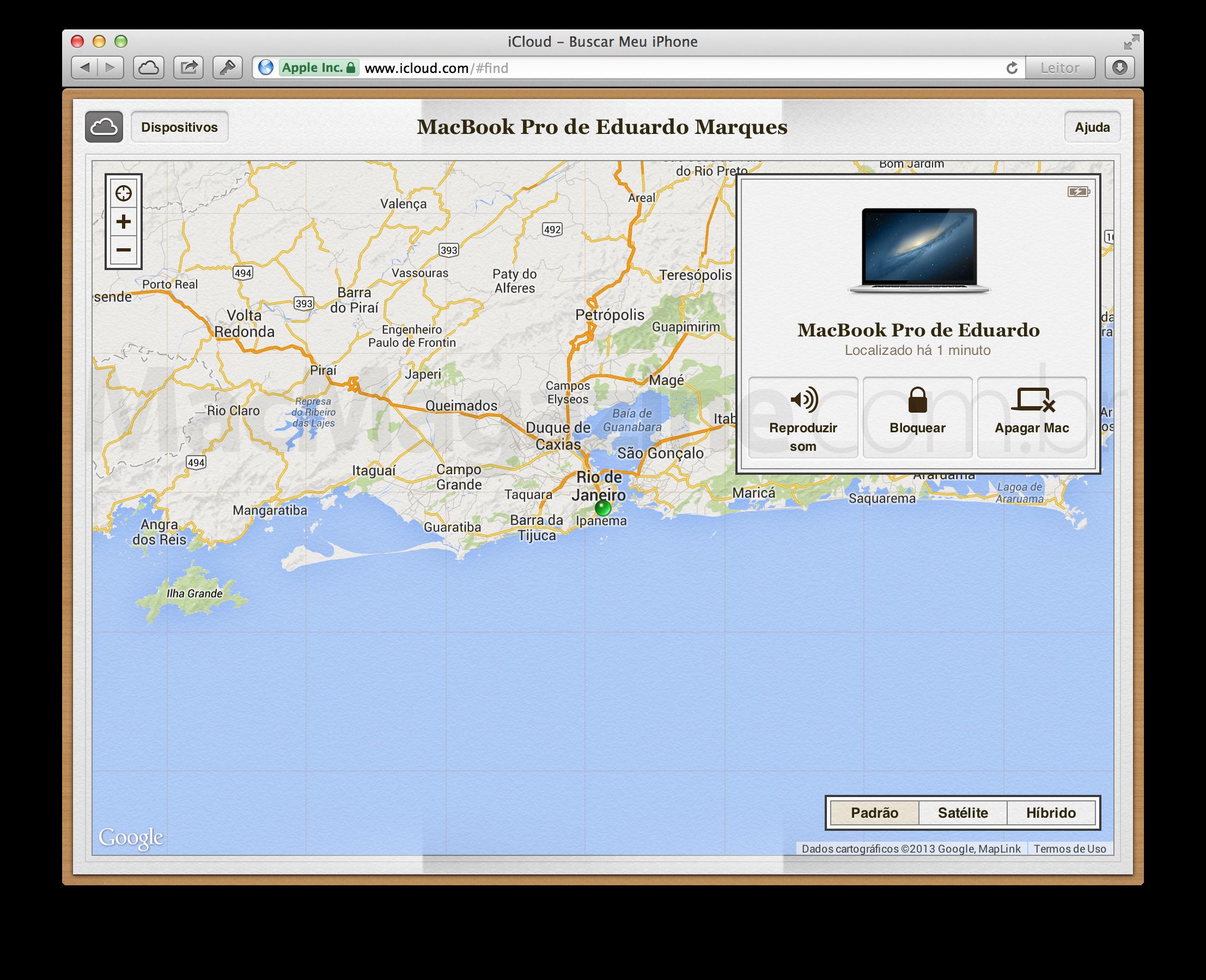 Buscar Meu Mac
