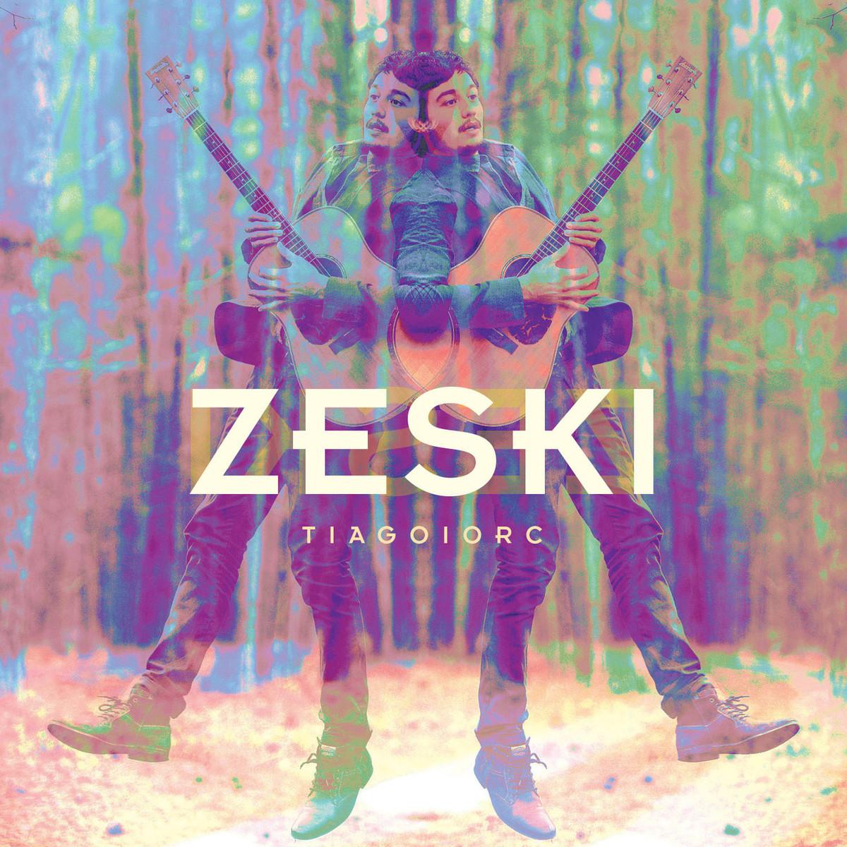 """Capa do álbum """"Zesky"""""""