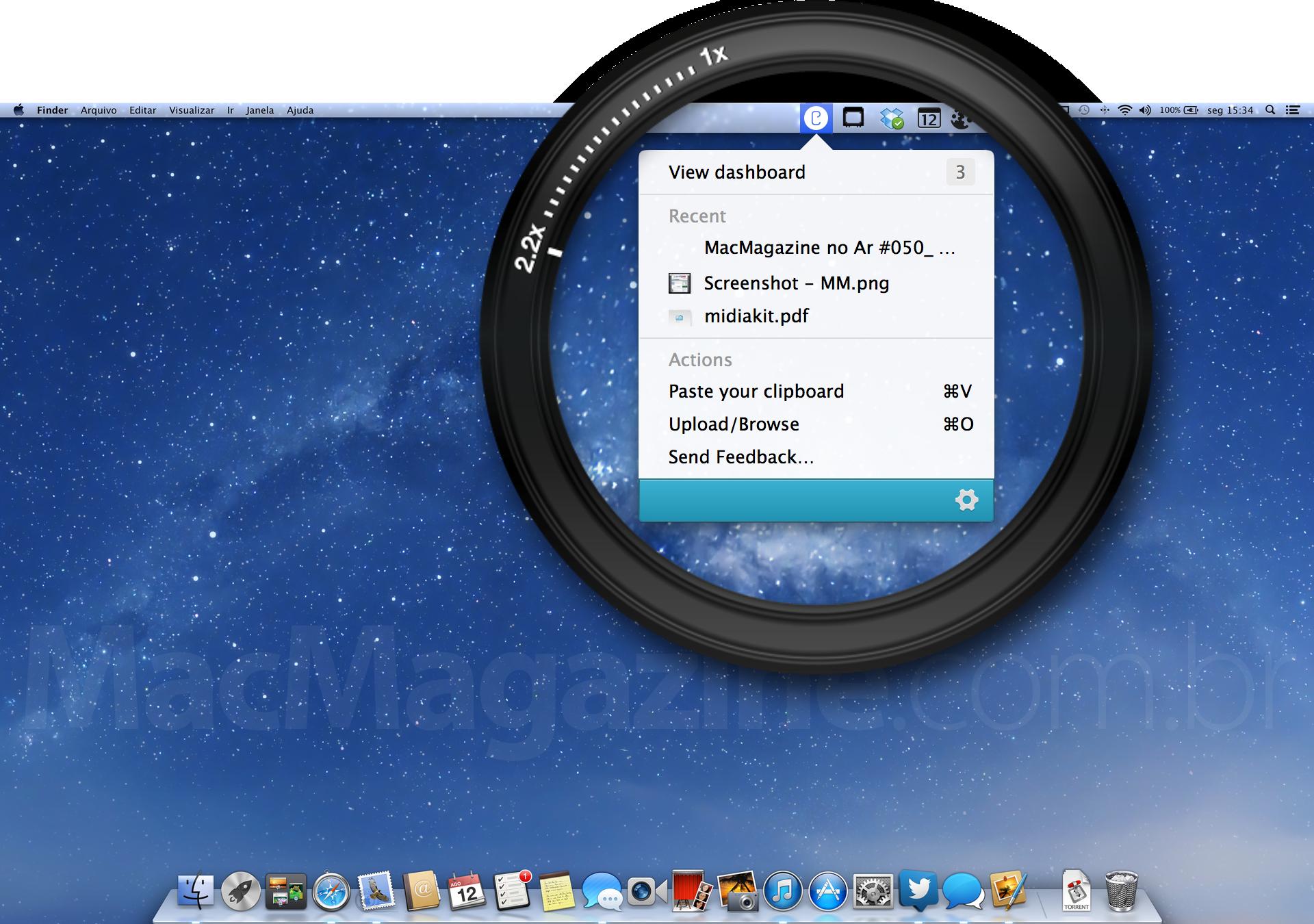 Cloudup para OS X