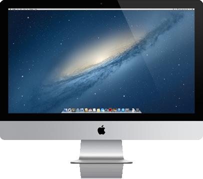 iMac de frente