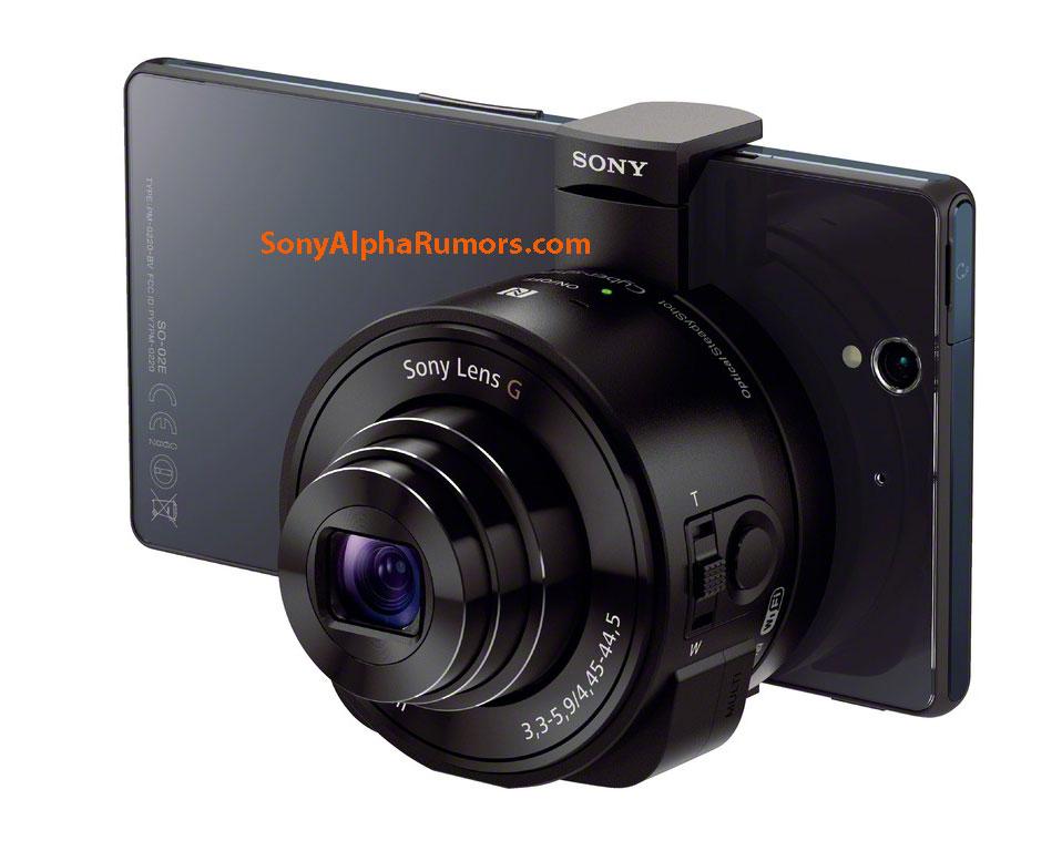 Supostas lente para smartphones, da Sony