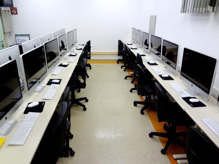 Novo laboratório de Macs do Senac Taubaté