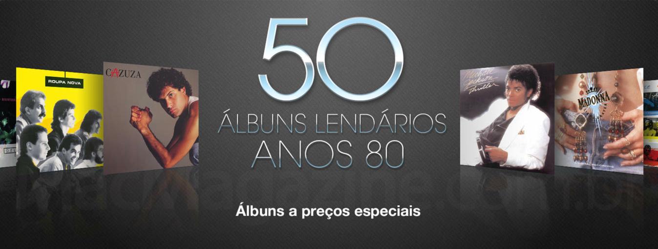 50 álbuns lendários dos anos 1980