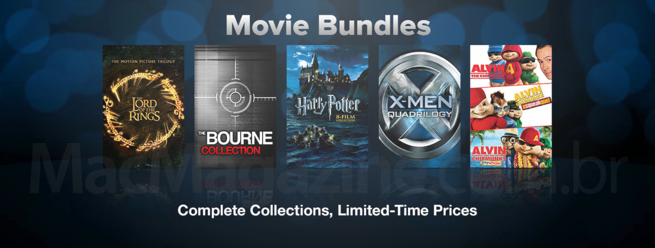 Movie Bundles na iTunes Store americana