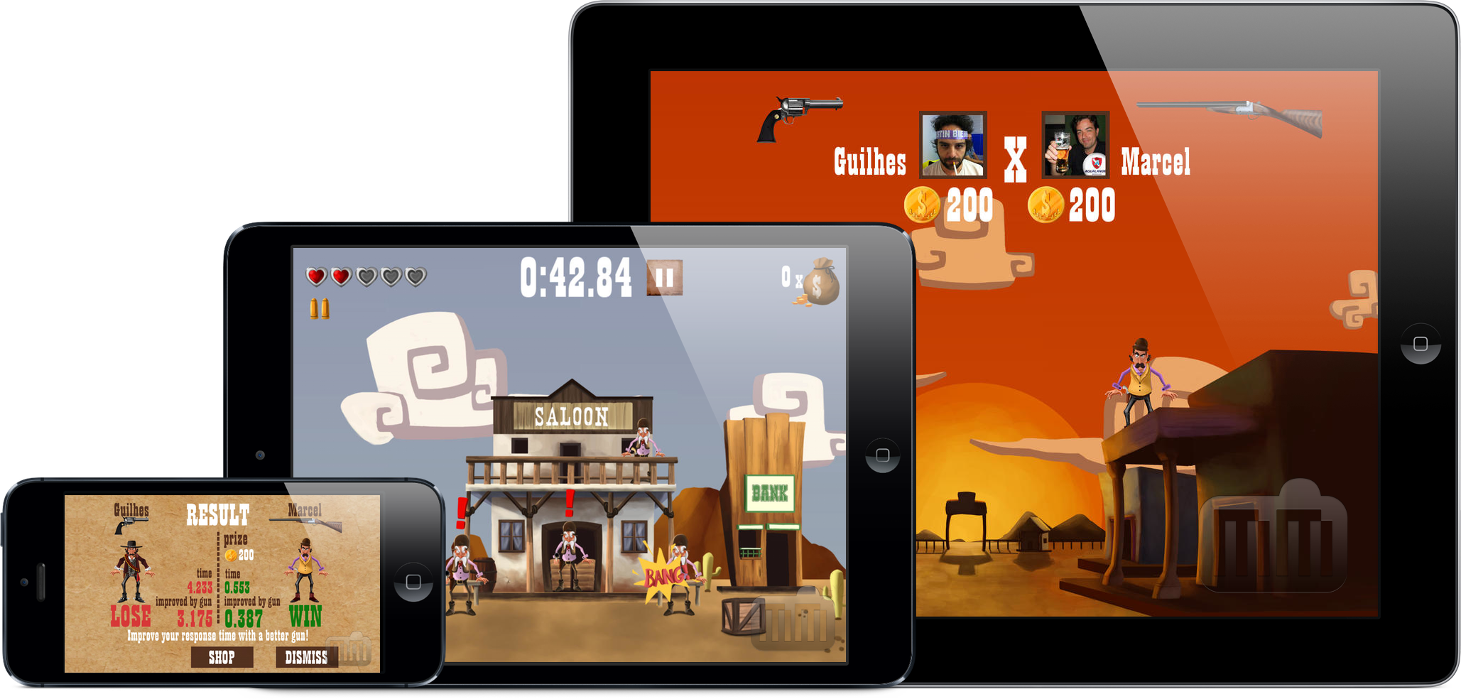 Jogo World Wild West para iOS