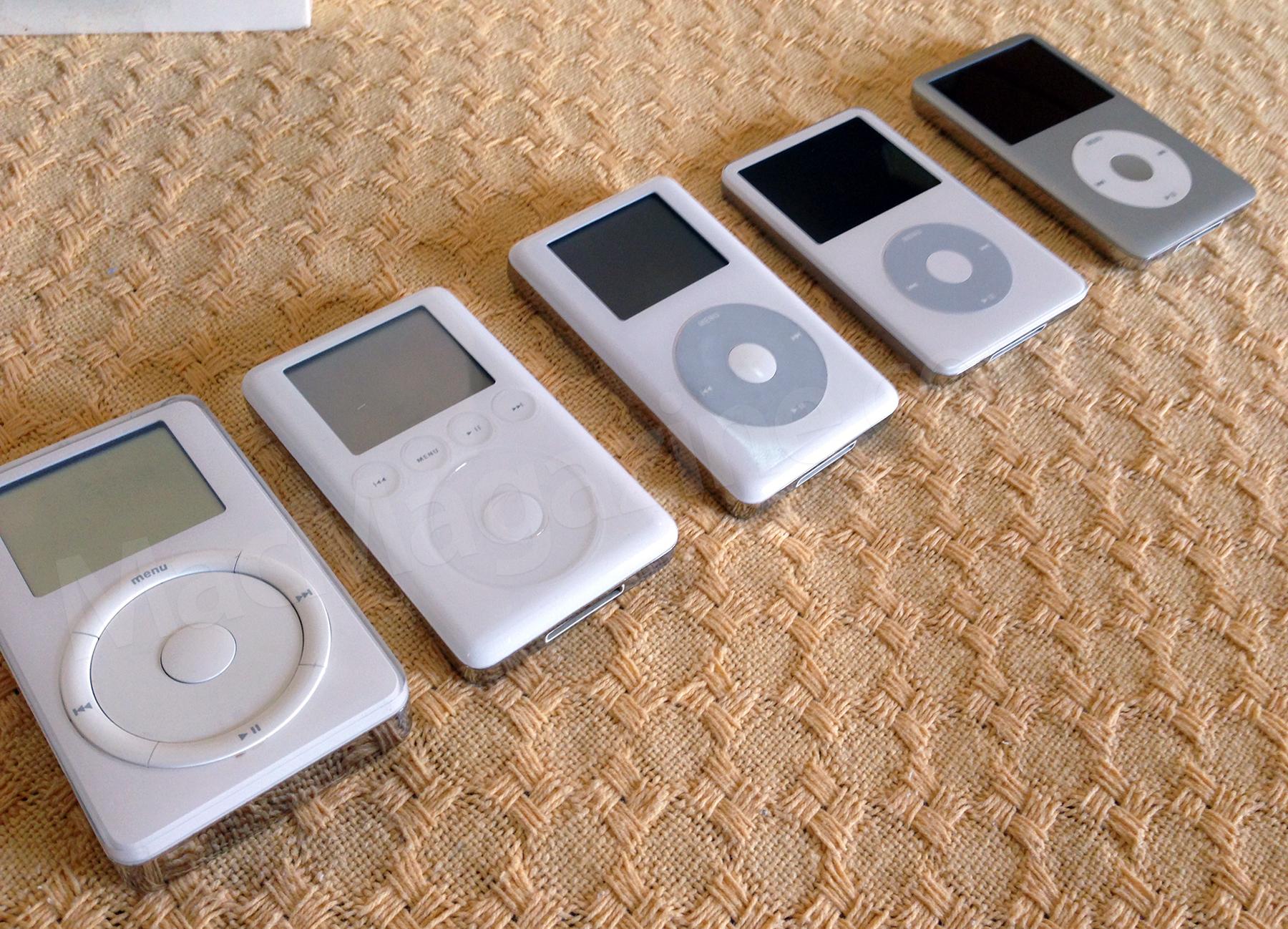 Família de iPods clássicos do Wilsians