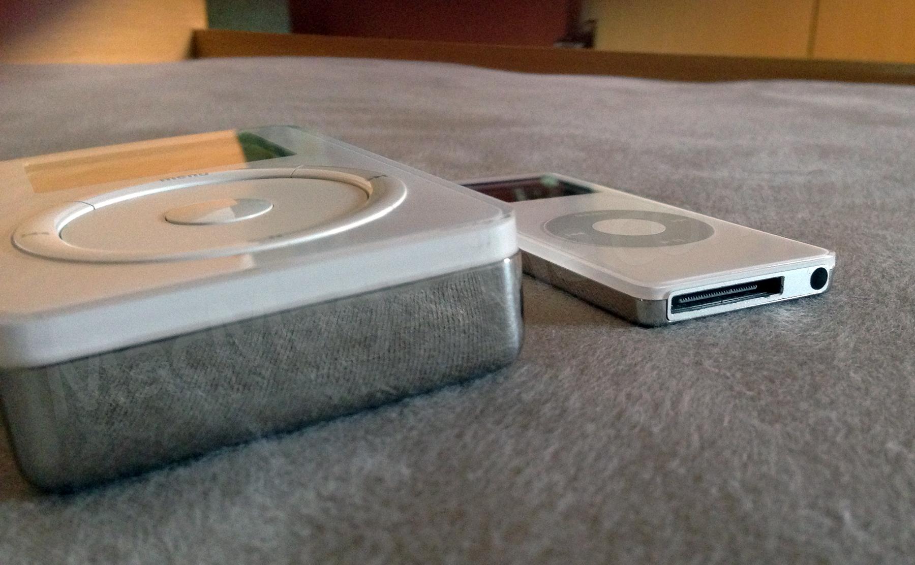 iPod original e primeiro nano do Wilsians