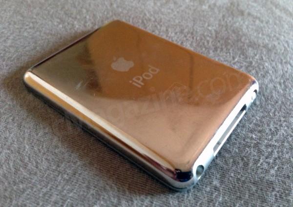 iPod nano de terceira geração, do Wilsians