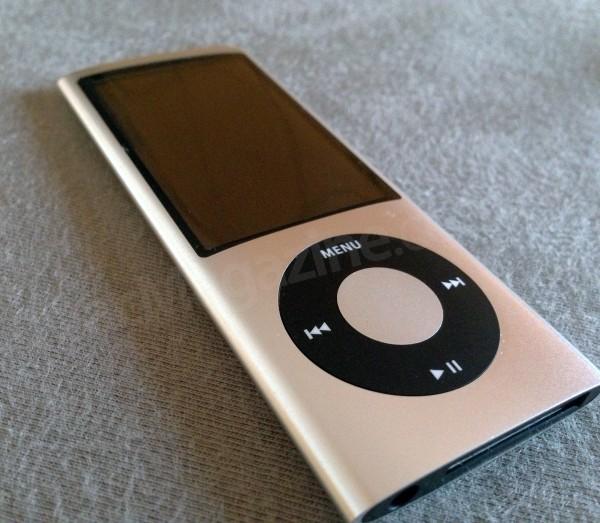 iPod nano de quinta geração, do Wilsians