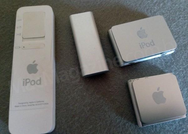 iPods shuffle do Wilsians