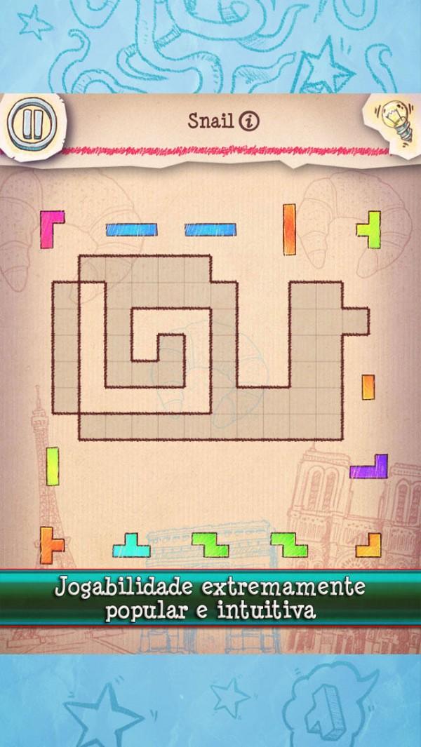 Jogo Doodle Fit 2: Around the World para iOS