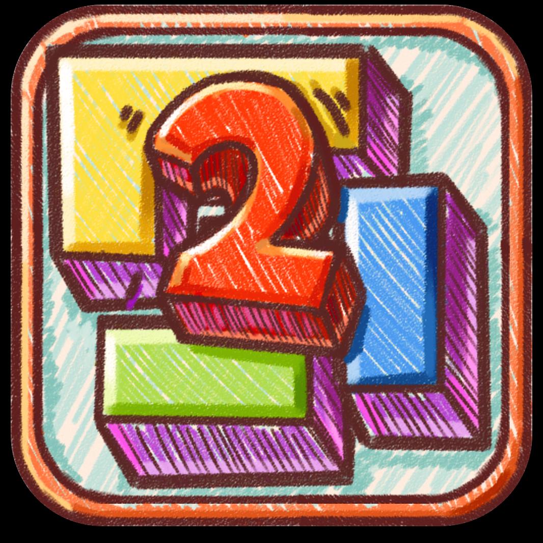 Ícone do jogo Doodle Fit 2: Around the World para iOS