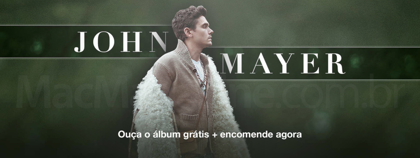 Novo álbum de John Mayer