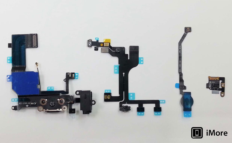 """Supostas peças do """"iPhone 5S"""""""