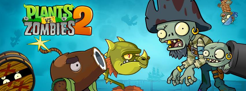 Banner de Plants vs. Zombies 2