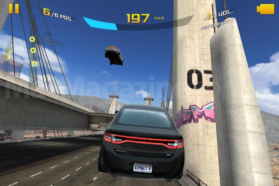 Jogo Asphalt 8: Airborne para iOS