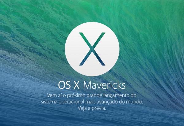 Banner do OS X Mavericks