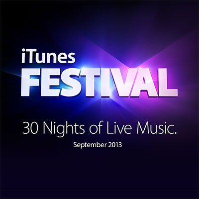 iTunes Festival pro Facebook