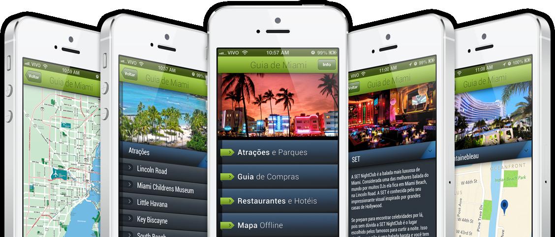 App Guia de Miami para iPhones/iPods touch