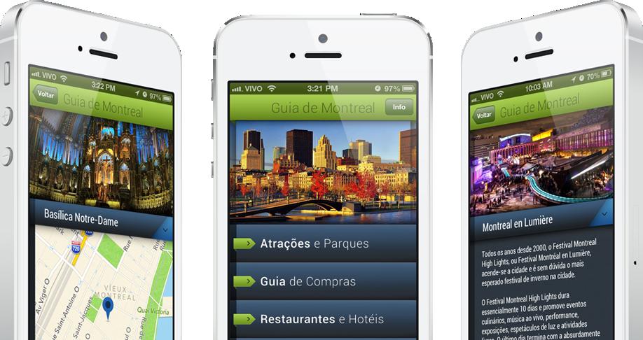 App Guia de Montreal para iPhones/iPods touch
