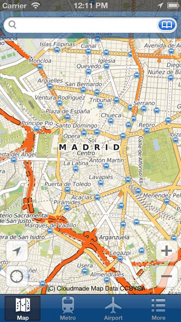 Madrid Mapa Offline