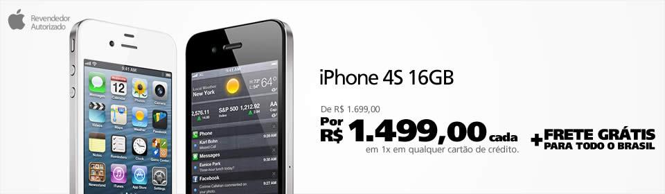 iPhone 4S em promoção na Saraiva