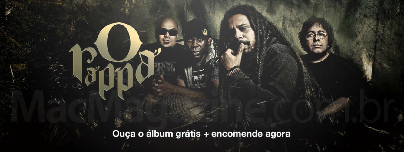 Novo álbum do Rappa