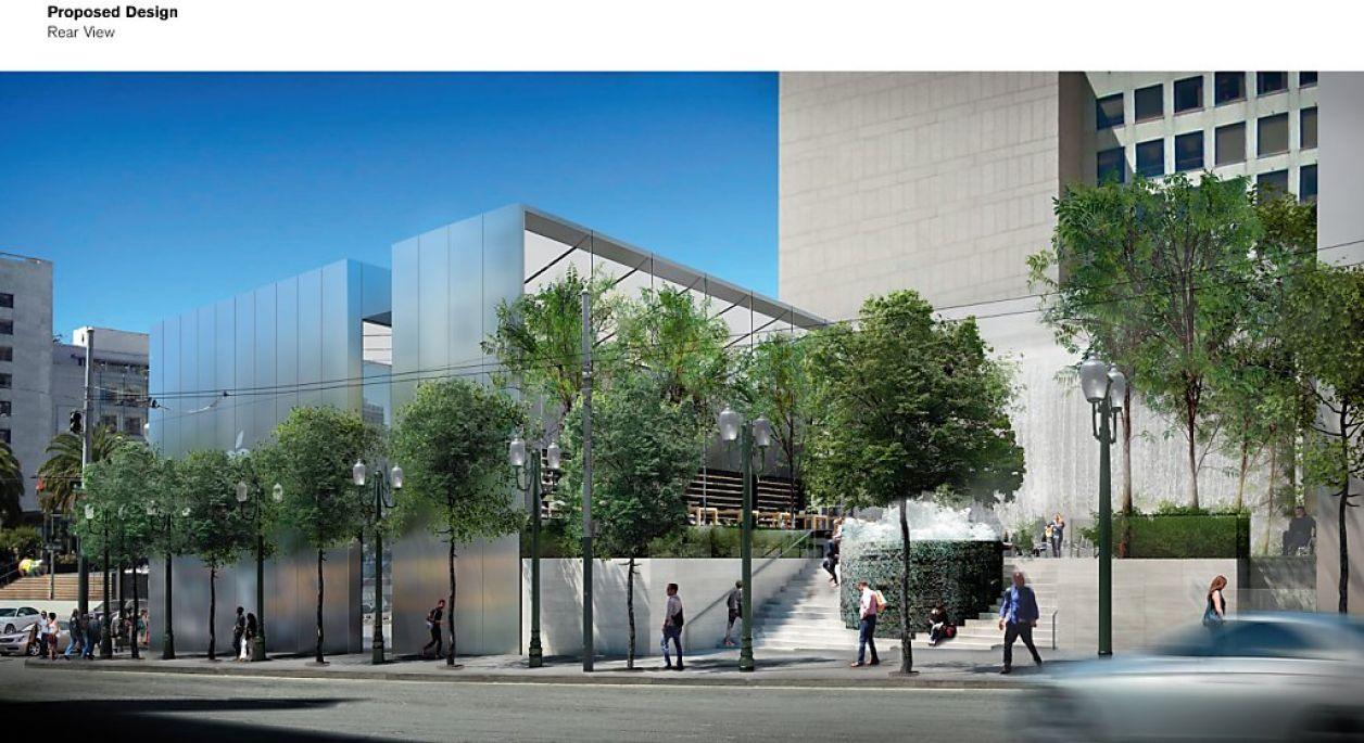 Projeto de uma nova Apple Retail Store em San Francisco