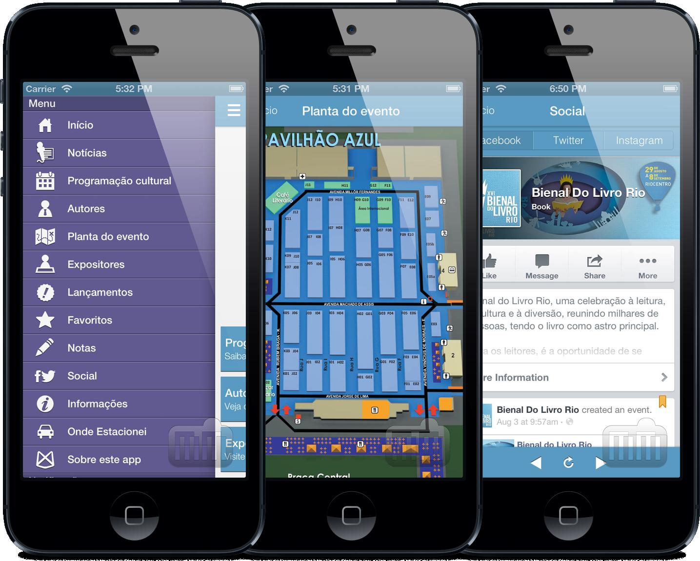 App Bienal do Livro 2013 para iPhones/iPods touch