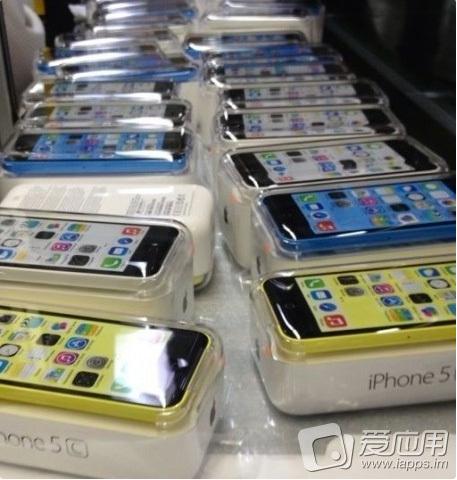 """Suposta embalagem do """"iPhone 5C"""""""