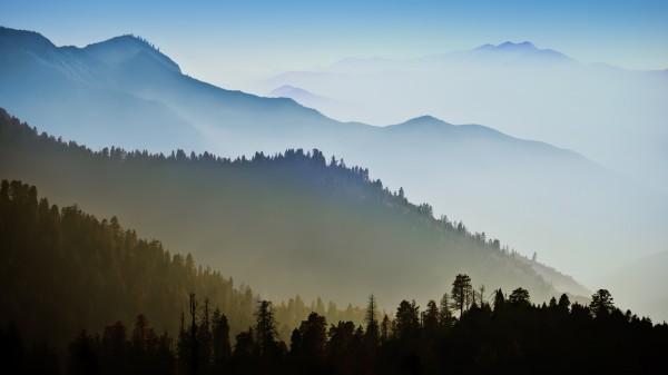 Wallpaper OS X Mavericks - Mountain Range