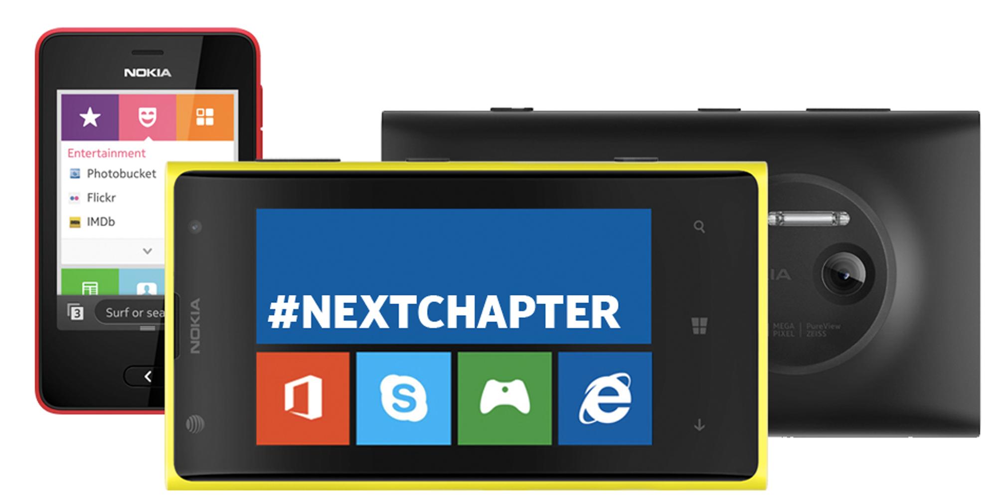Banner - Nokia adquirida pela Microsoft