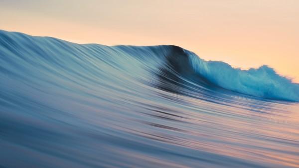 Wallpaper OS X Mavericks - Rolling Waves